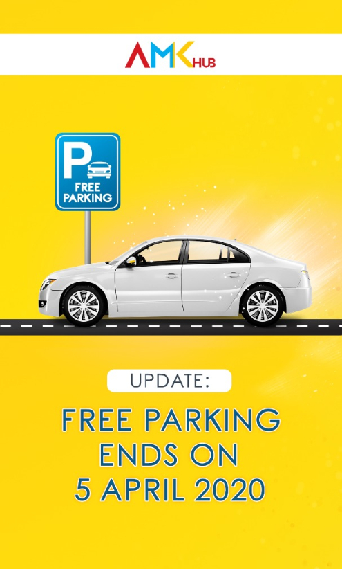 Free Parking ends on 5 April 2020